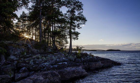 Eine Kanutour in Schweden