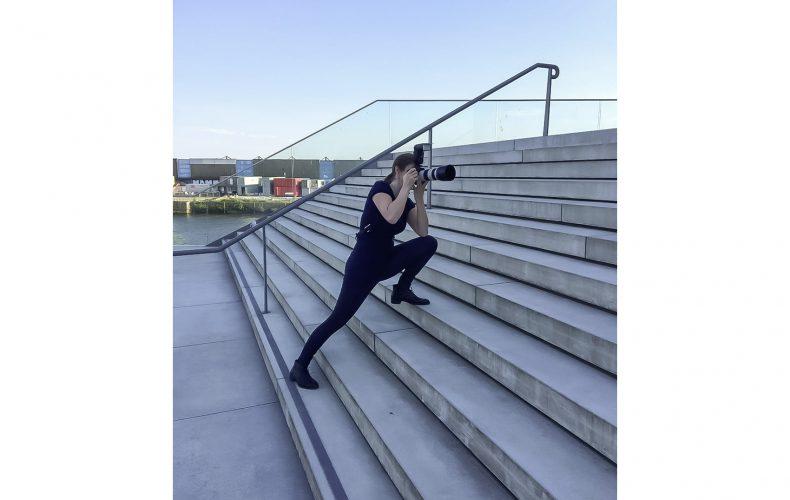 Behind the Scenes vom Shooting mit Finanzexpertin Diana Wolf
