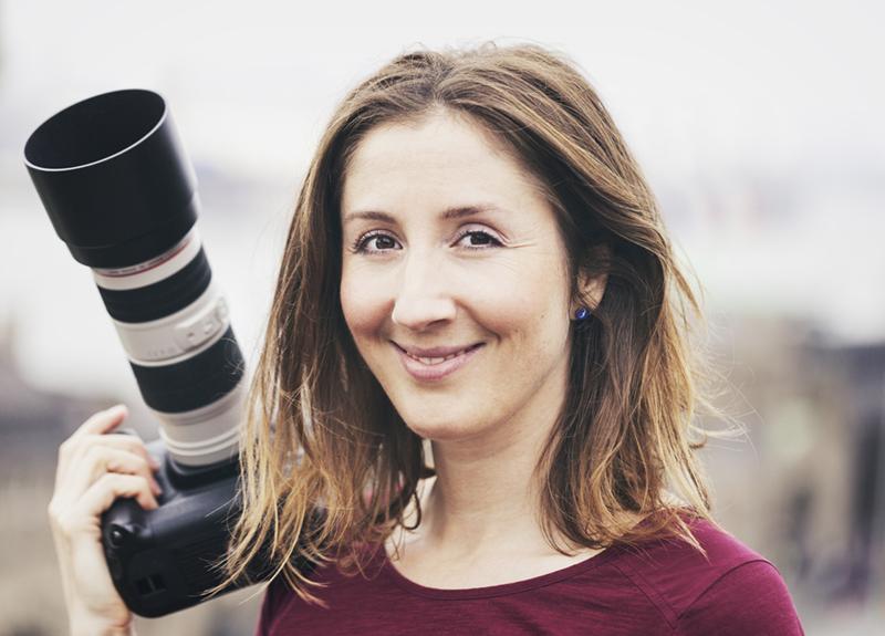 Portrait Fotografin Andrea Lang