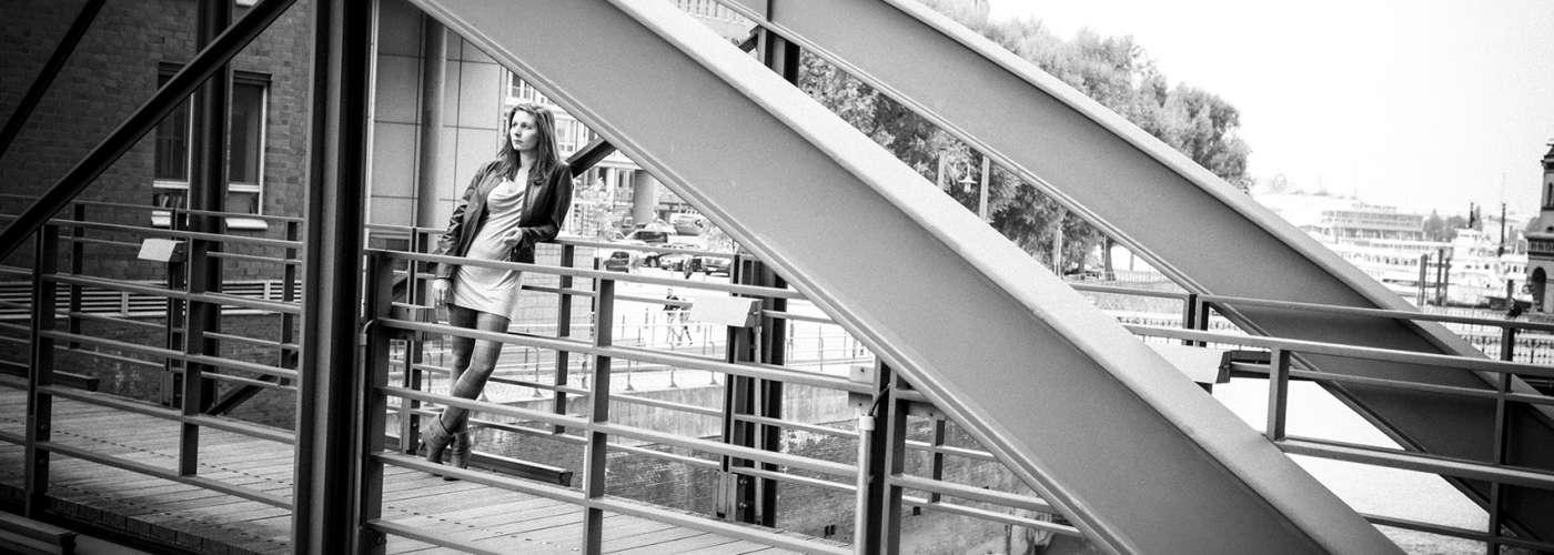 Hafencity Hamburg, Portrait Journalistin, Katharina Blass, © Andrea Lang / fotografiehamburg.de