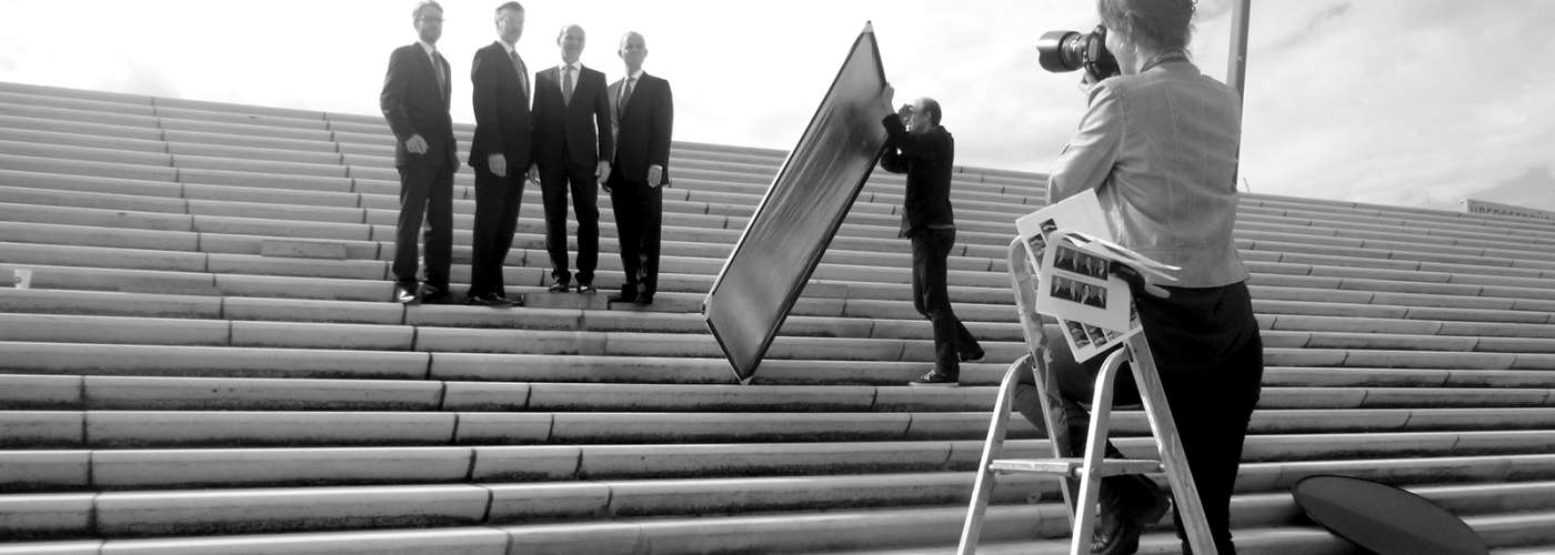 Making Of vom Photoshooting mit den Management Angels