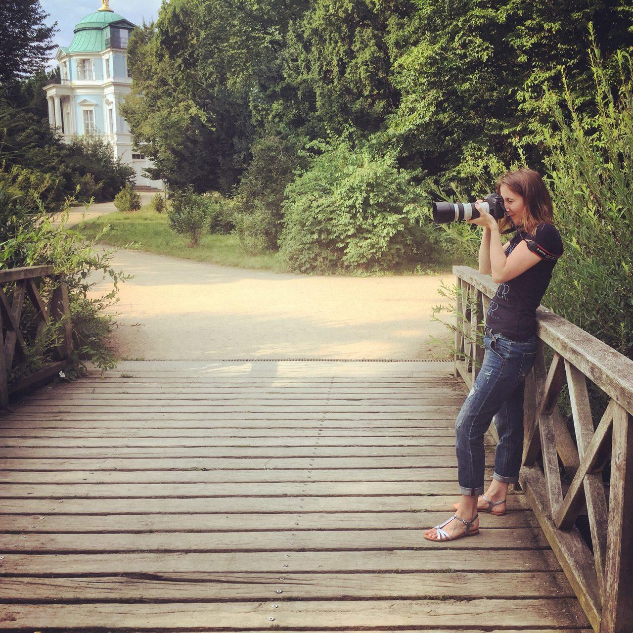 Making Of vom Shooting mit Pamela in Berlin