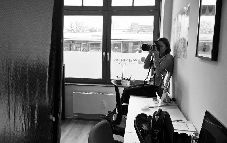 Behind the Scenes vom Praxis Shooting