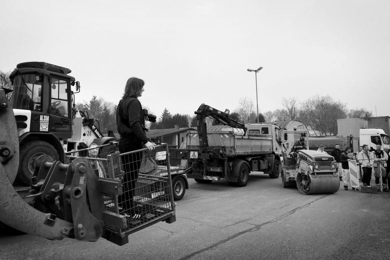 KLT Verkehrswegebau GmbH, Straßenbau, bts, Making Of