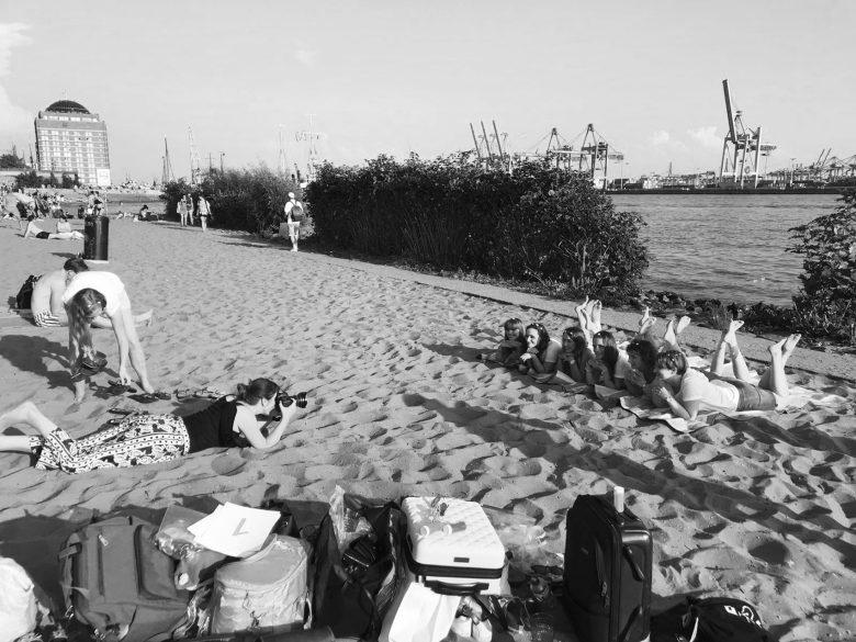 Making Of vom Junggesellinnenabschied an der Elbe