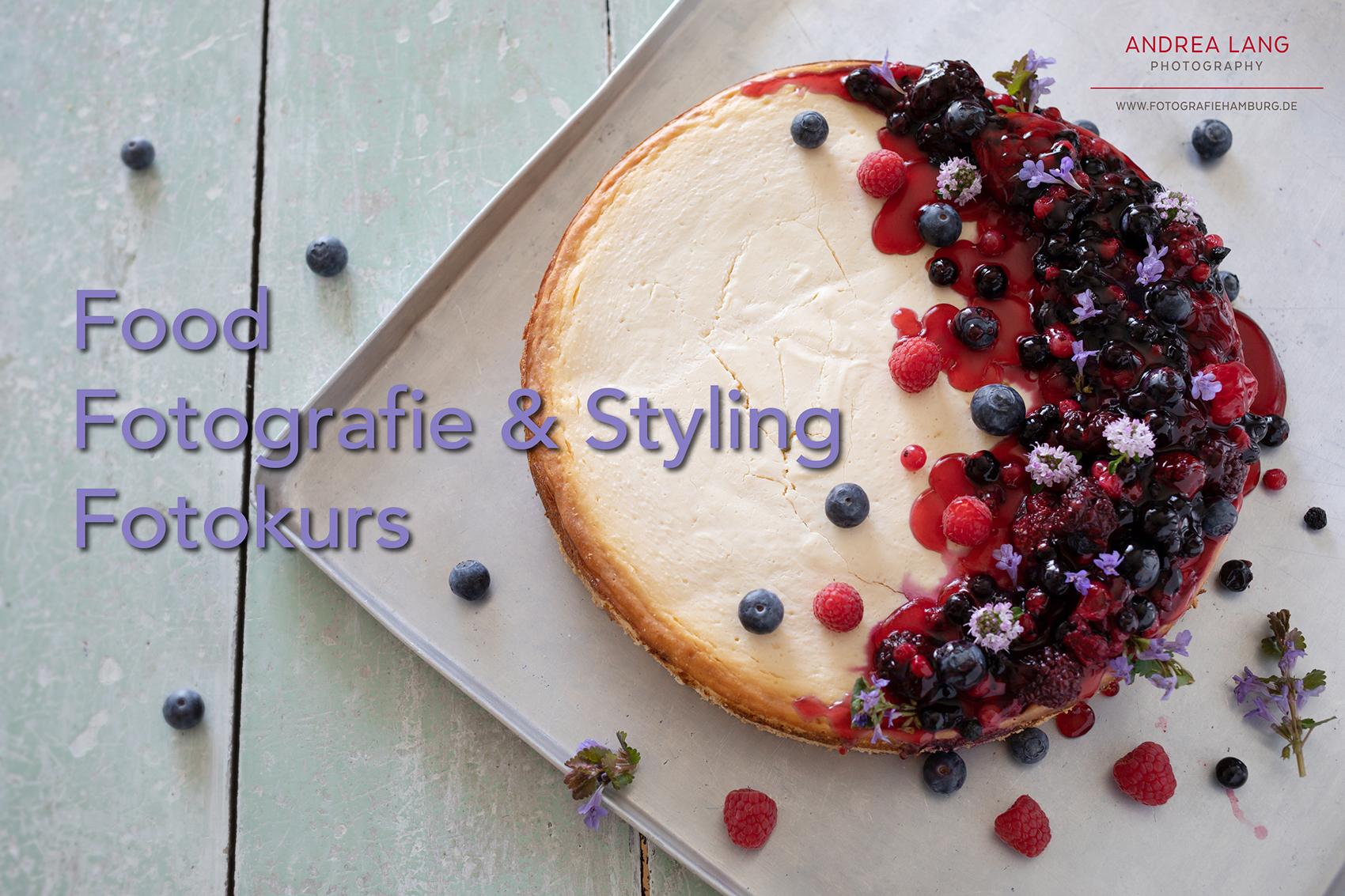 Food Fotografie & Styling Fotokurs