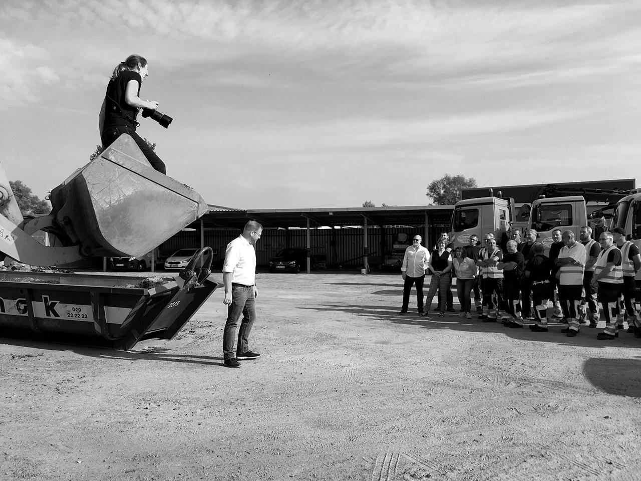 Making Of Shooting Wilhelm Buhk´s Straßenbau GmbH&Co.KG