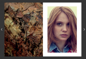 Nature-Structure Lookbook by Andrea Lang: Sustainable Fashion Photo Shooting - in close communion with nature